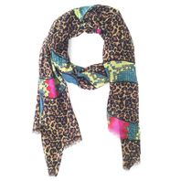 Leopard Snakes Scarf